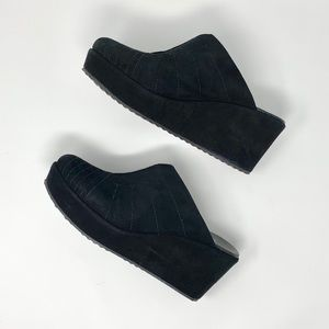 Cordani Black Suede Shoes
